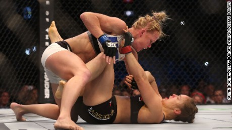 rousey knockout