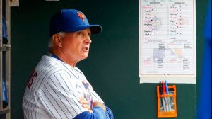 Terry Collins is one of the 15 NL managers who has to make decisions regarding pitchers at the plate.